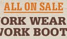 All Work Wear on Sale
