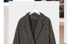 Tweed Boyfriend Coat