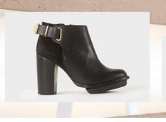 POWER Gold Trim Boots