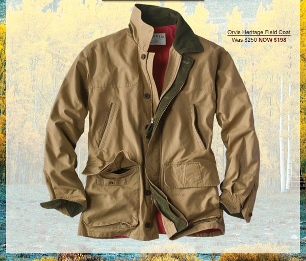 Orvis Heritage Field Coat | Was $250 Now $198