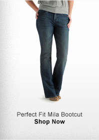 PERFECT FIT MILA BOOTCUT >