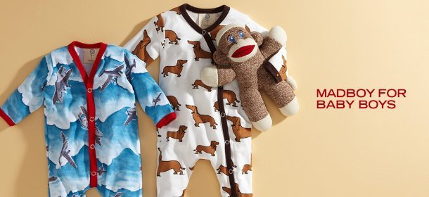 MADBOY FOR BABY BOYS, Event Ends September 14, 9:00 AM PT >