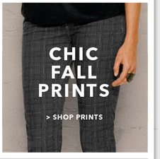 Chic Fall Prints