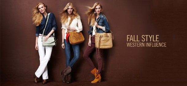 FALL STYLE: WESTERN INFLUENCE, Event Ends September 14, 9:00 AM PT >