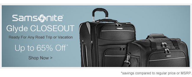 Samsonite Glyde Closeout | Up to 65% Off | Shop Now