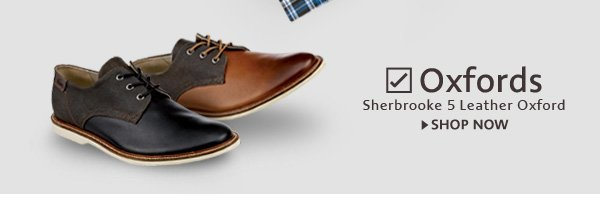 Oxfords. Sherbrooke 5 Leather Oxford