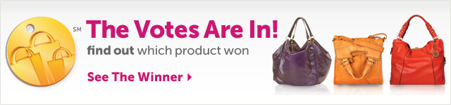 The Votes are In! find our which product won - See the Winner