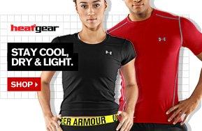 UA HEATGEAR® - STAY COOL, DRY & LIGHT. SHOP.