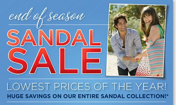 The End of Season Sandal Sale is on! Find huge savings on the best styles and brands like Dansko, ECCO, Umberto Raffini, ABEO B.I.O.system, MBT and more for women and men during our sandal clearance! Shop now to find the lowest prices of the year when you shop online and in-stores at The Walking Company.