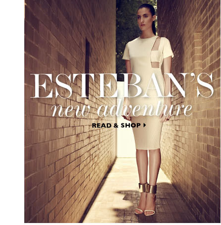 ESTEBANS NEW ADVENTURE. WATCH & SHOP