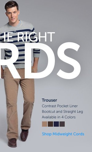 Midweight Cords