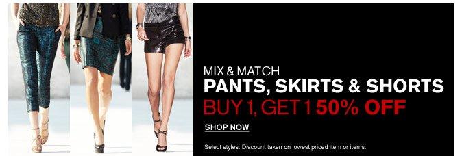 SHOP WOMEN'S PANTS, SKIRTS, SHORTS