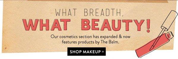 Shop makeup.