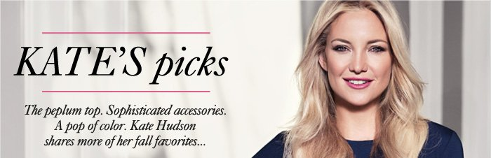 KATE'S PICKS