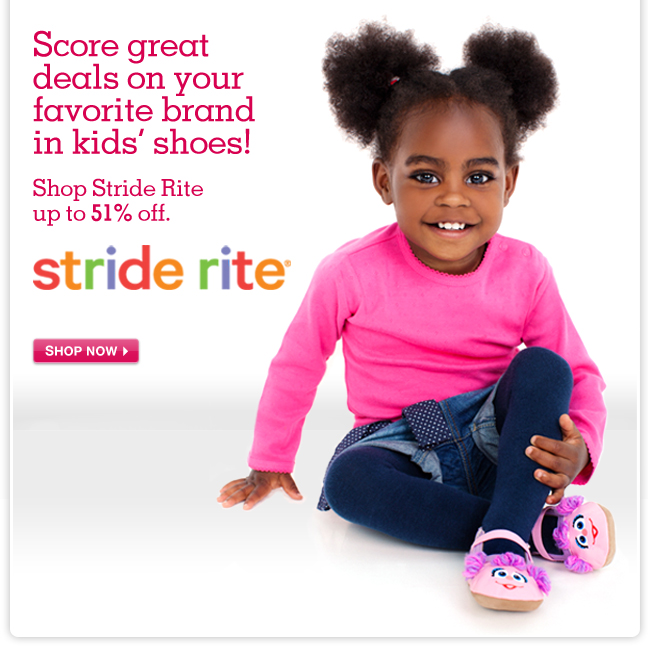 Shop Stride Rite up to 51% OFF! - Score great deals on your favorite brand in kids' shoes.