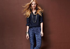 Fall Style: Printed & Color Denim