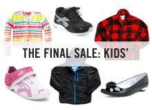 THE FINAL SALE KIDS'