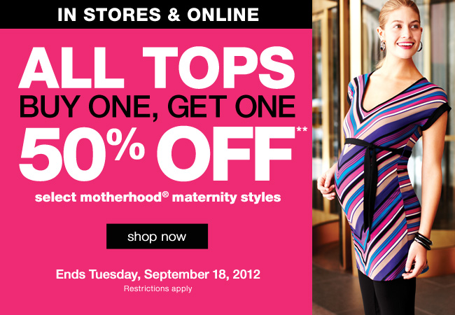 Maternity Tops - Buy One, Get One