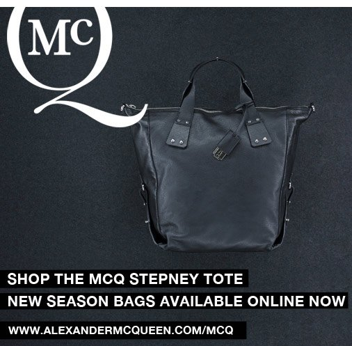 Shop The McQ Stepney Tote. New Season Bags Available Online Now.