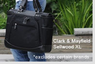 "Clark & Mayfield Sellwood XL 17.3"" Laptop Tote"
