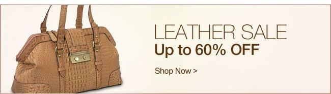 Shop Leather Handbag Sale