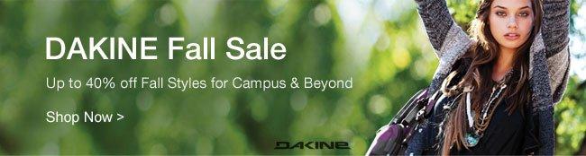 Shop DAKINE Fall Sale