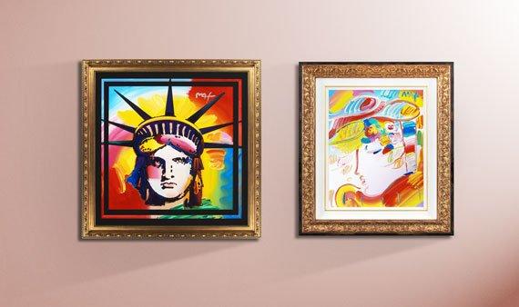 Peter Max Fine Art  -- Visit Event