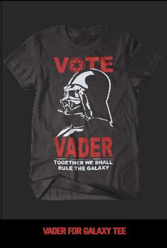 VADER FOR GALAXY TEE