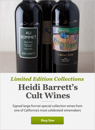 Limited Edition Collections: Heidi Barrett's Cult Wines - Shop Now