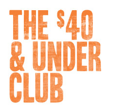 The $40 & Under Club