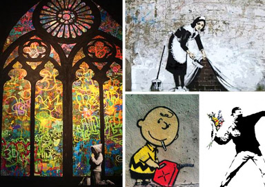 Shop All New Banksy + Best Sellers