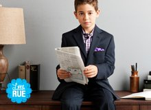 For Little Gents Boys' Suiting
