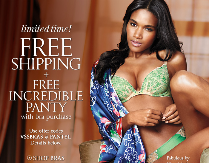 Limited Time! FREE SHIPPING + FREE INCREDIBLE PANTY