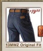 Wrangelers 13 MWZ Original Fit Jeans