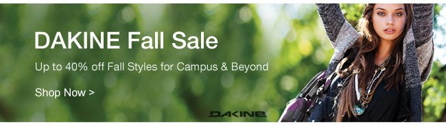Shop DAKINE Fall Sale