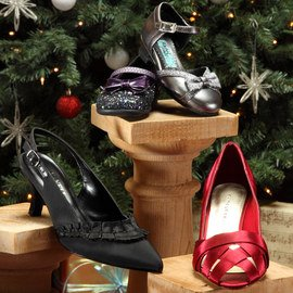 Festive Finery: Kids' & Women's Shoes
