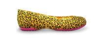 carlisa leopard print flat