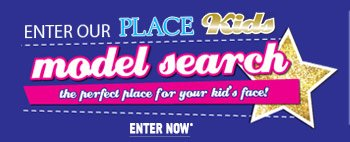 Enter Our PLACE KIDS Model Search