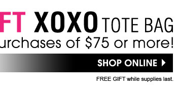 FREE GIFT XOXO Tote Bag