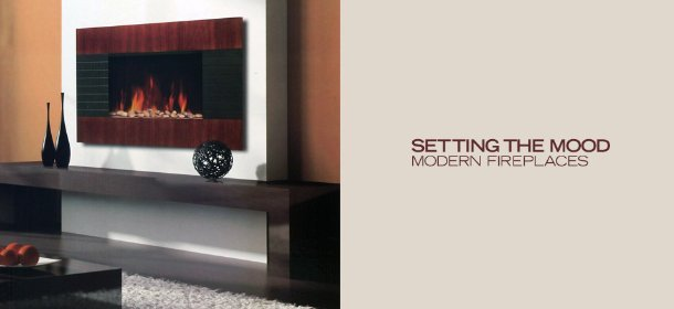SETTING THE MOOD: MODERN FIREPLACES, Event Ends September 18, 9:00 AM PT >