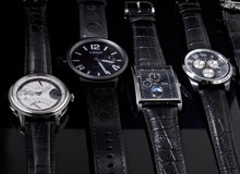 Black Out Slick Timepieces for Men