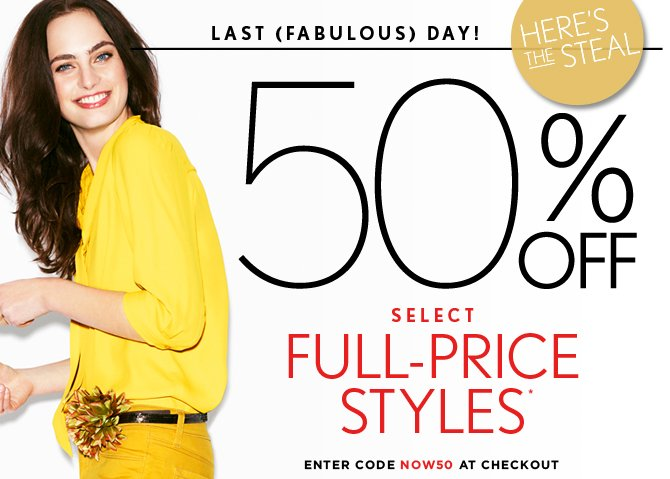 LAST (FABULOUS) DAY!