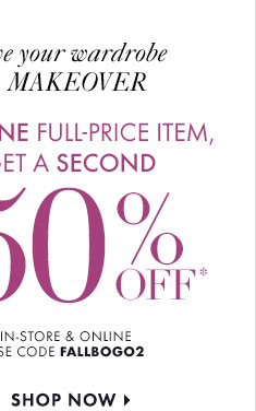Give you wardrobe A MAKEOVER