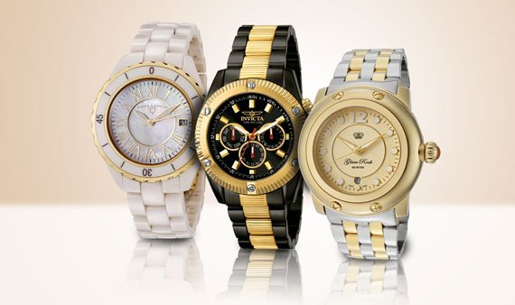 On Trend: Two-Tone Watches   -- Visit Event
