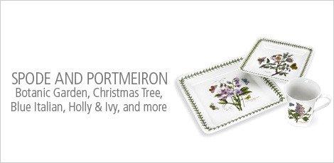 Spode and Portmeirion