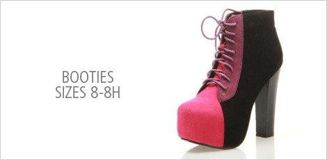 Booties 8-8h