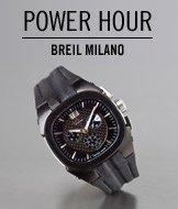 Power Hour. Breil Milano Men's Eros Chronograph Watch.