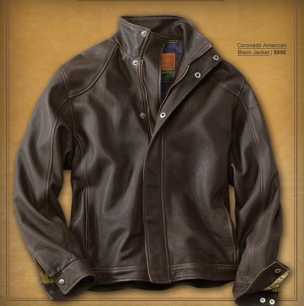 Coronado American Bison Jacket | $995