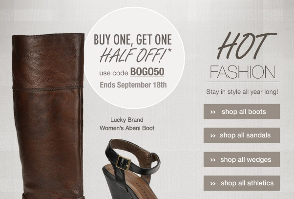 New  from Lucky Brand + BOGO Sale!