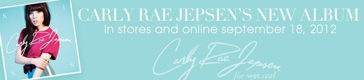 Free Download - Carly Rae Jepsen For Wet Seal